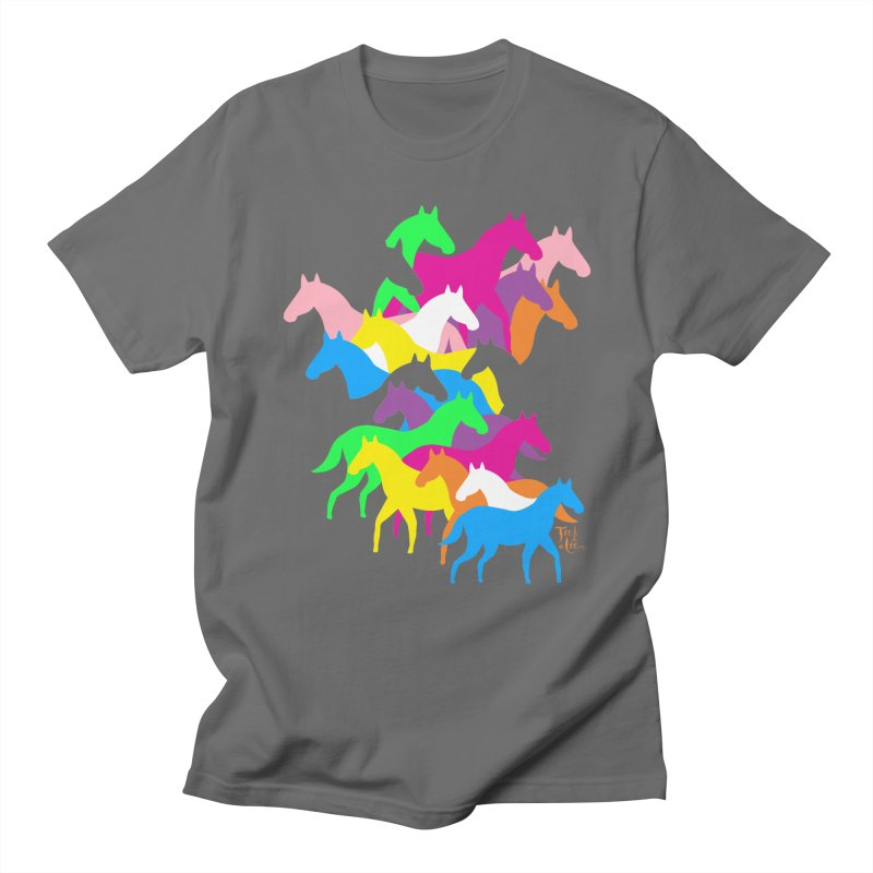 All the wild horses Women's T-Shirt by TeedeLee
