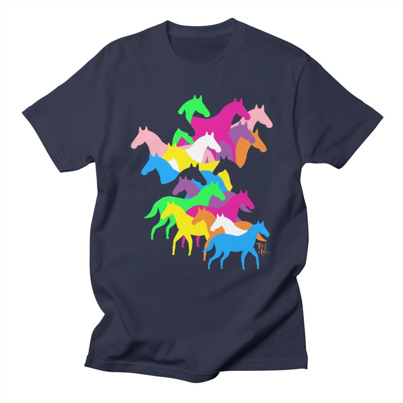 All the wild horses Men's T-Shirt by TeedeLee
