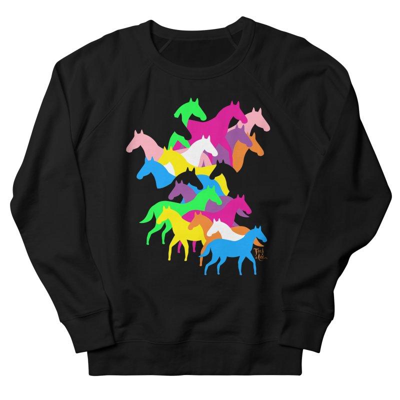 All the wild horses Women's Sweatshirt by TeedeLee