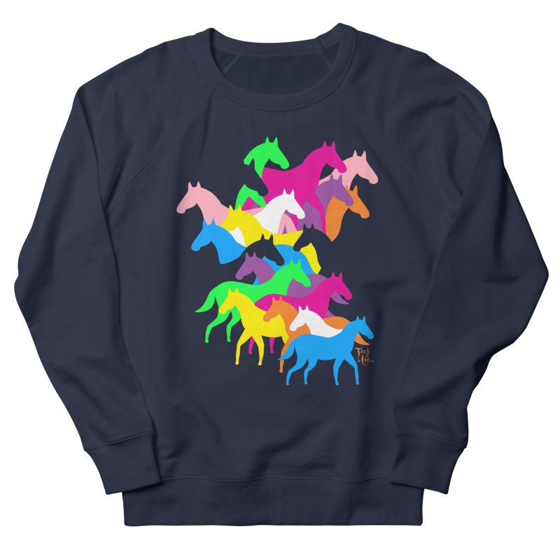 All the wild horses Women's Sweatshirt by TeedeLee