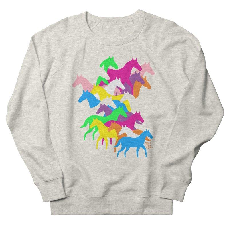 All the wild horses Men's Sweatshirt by TeedeLee