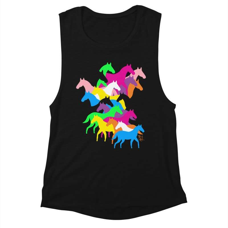 All the wild horses Women's Tank by TeedeLee