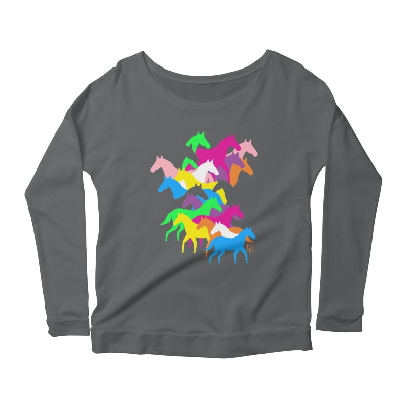 All the wild horses Women's Longsleeve T-Shirt by TeedeLee