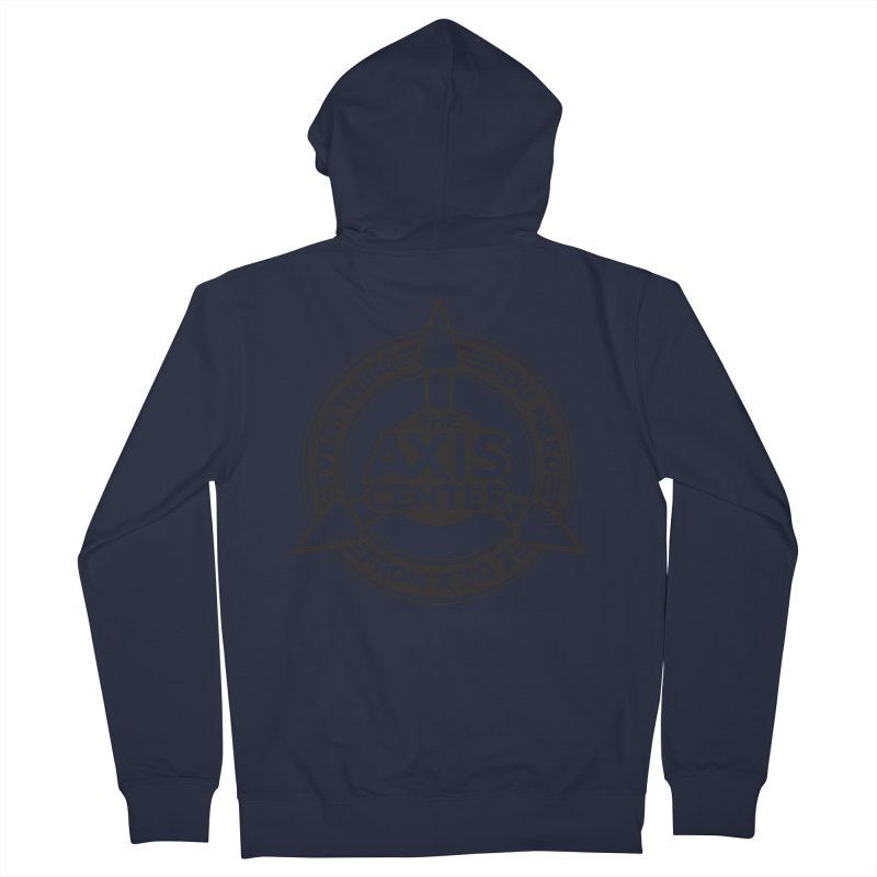 The Axis Center Men's Zip-Up Hoody by Teeframed