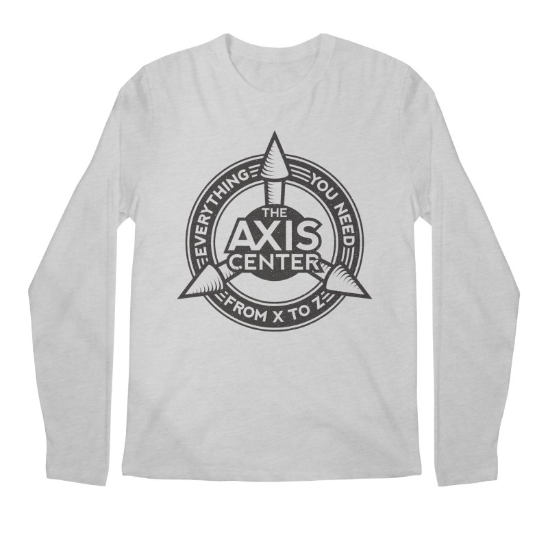 The Axis Center Men's Longsleeve T-Shirt by Teeframed