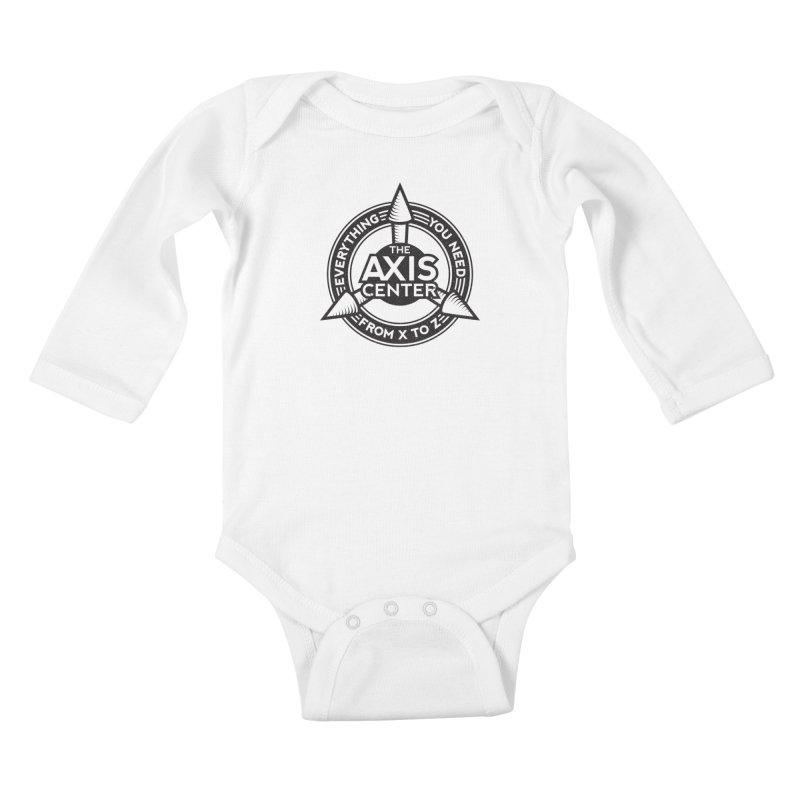 The Axis Center Kids Baby Longsleeve Bodysuit by Teeframed