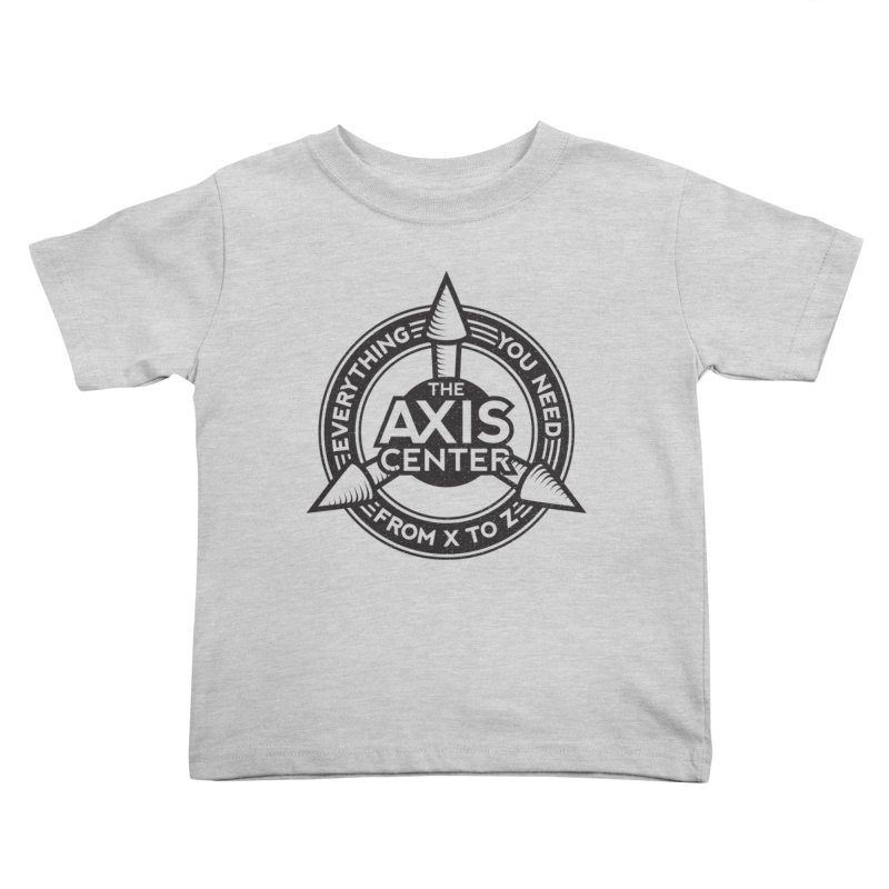 The Axis Center Kids Toddler T-Shirt by Teeframed