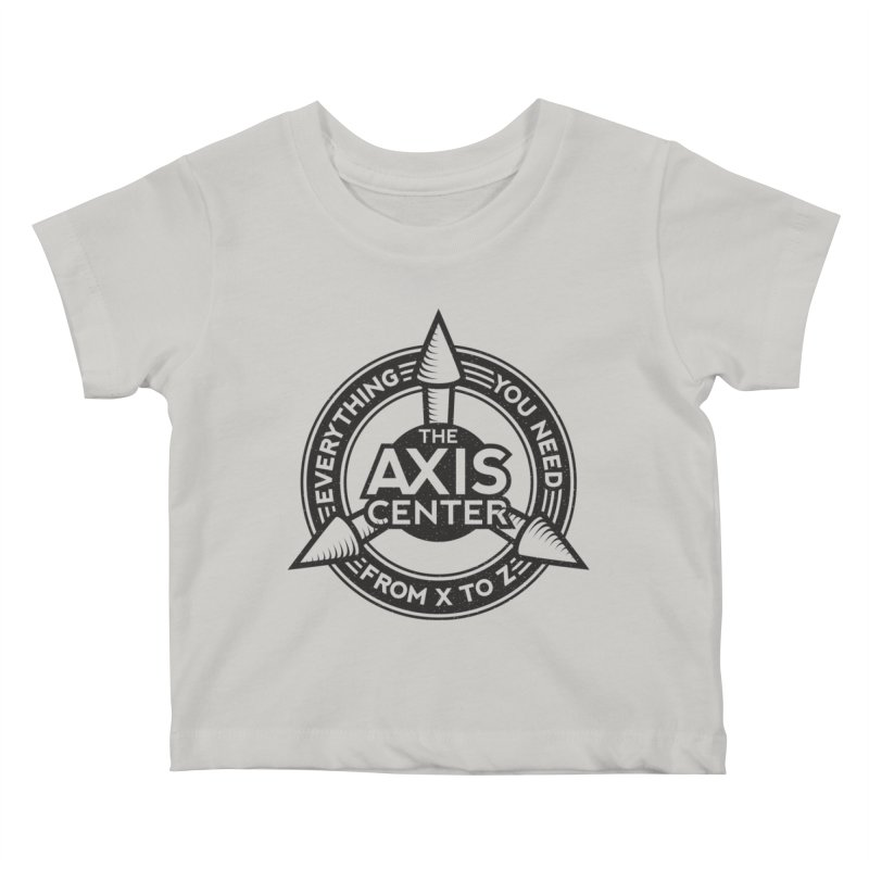 The Axis Center Kids Baby T-Shirt by Teeframed