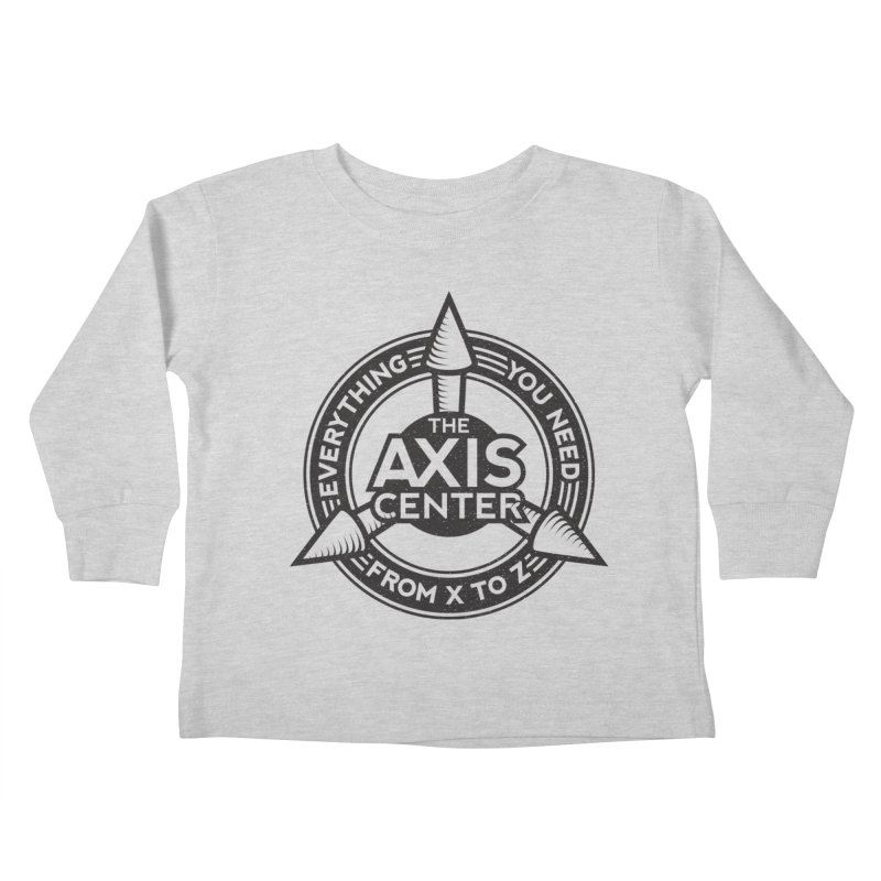 The Axis Center Kids Toddler Longsleeve T-Shirt by Teeframed