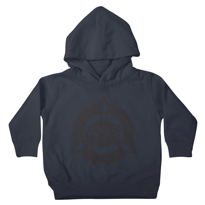 The Axis Center Kids Toddler Pullover Hoody by Teeframed