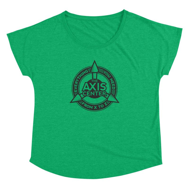 The Axis Center Women's Dolman by Teeframed