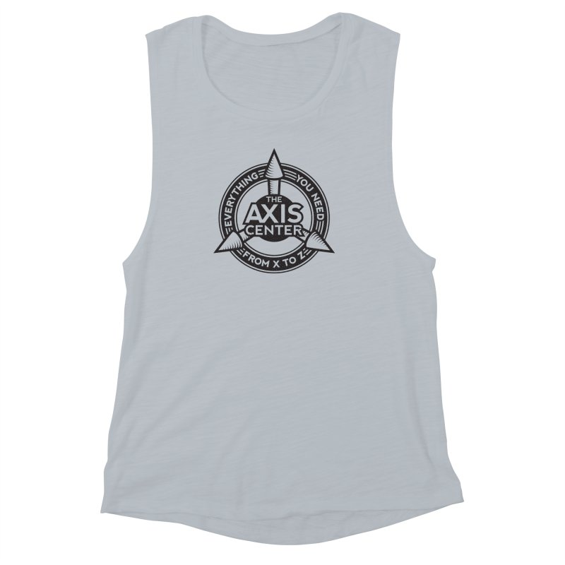 The Axis Center Women's Muscle Tank by Teeframed