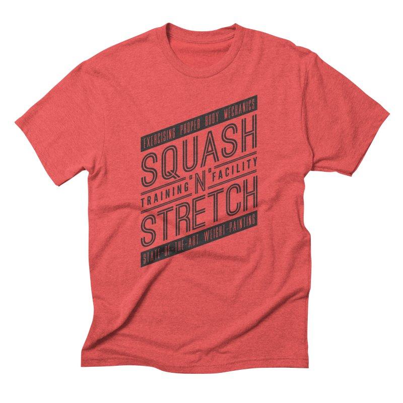 Squash 'n' Stretch Men's T-Shirt by Teeframed