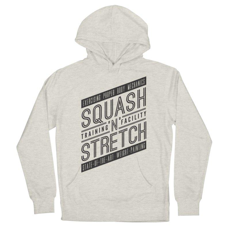 Squash 'n' Stretch Men's Pullover Hoody by Teeframed