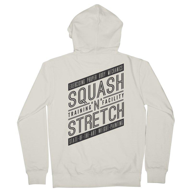 Squash 'n' Stretch Men's Zip-Up Hoody by Teeframed