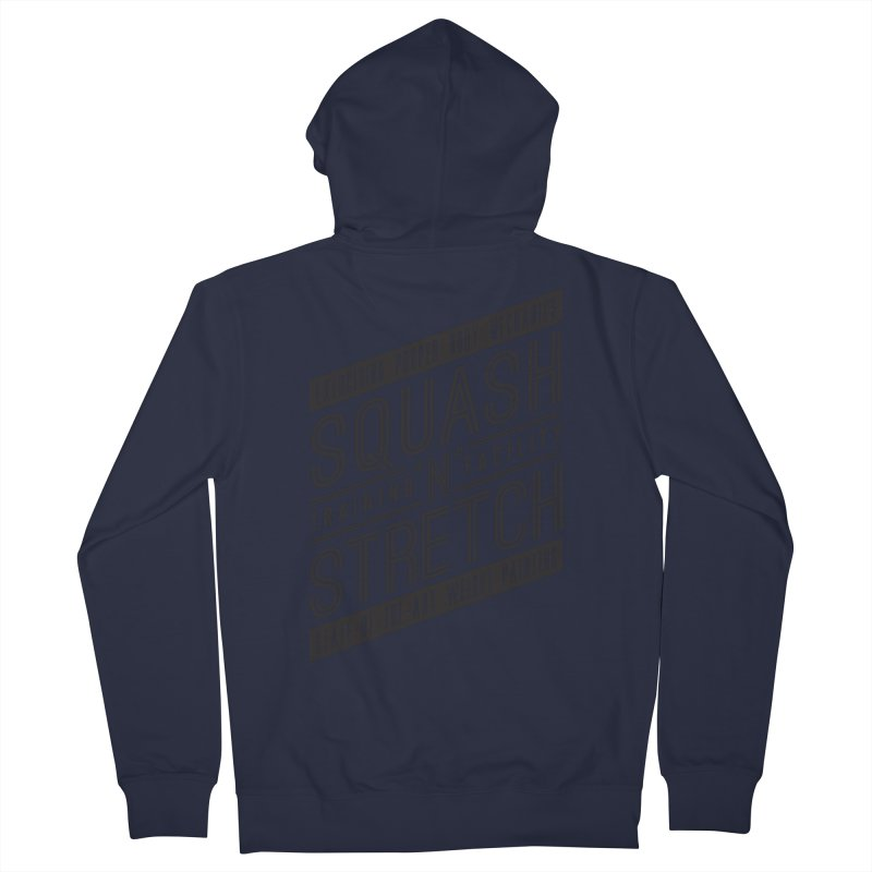 Squash 'n' Stretch Men's Zip-Up Hoody by Teeframed