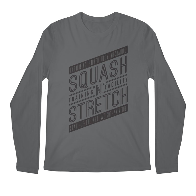 Squash 'n' Stretch Men's Longsleeve T-Shirt by Teeframed