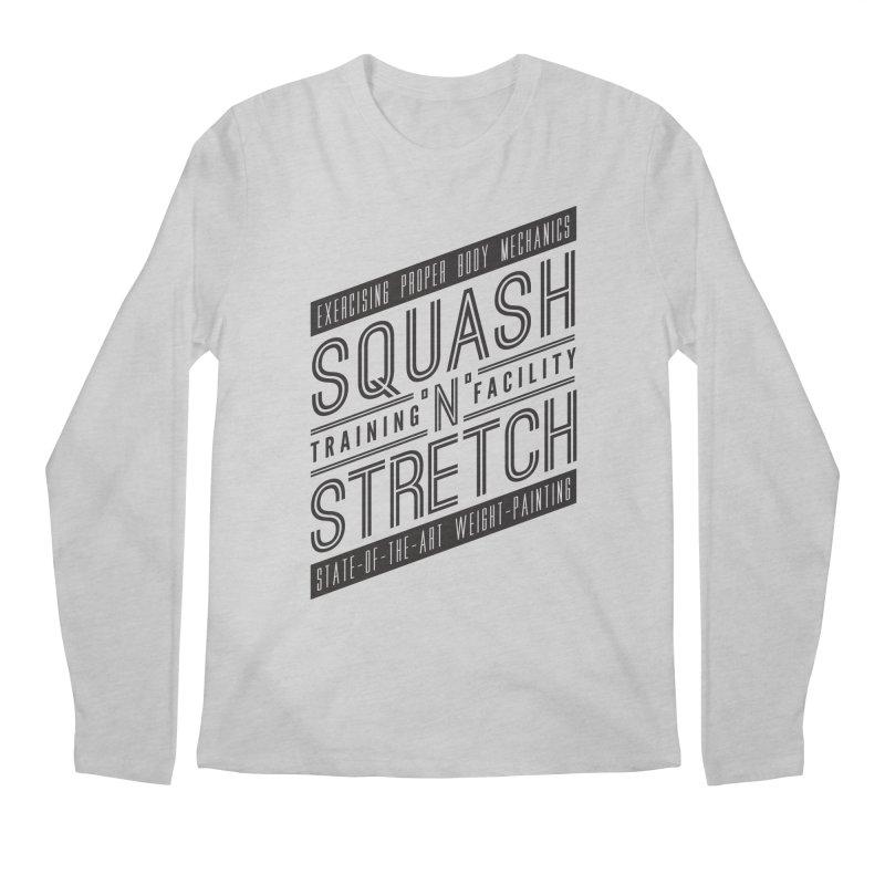 Squash 'n' Stretch Men's Longsleeve T-Shirt by Teeframed