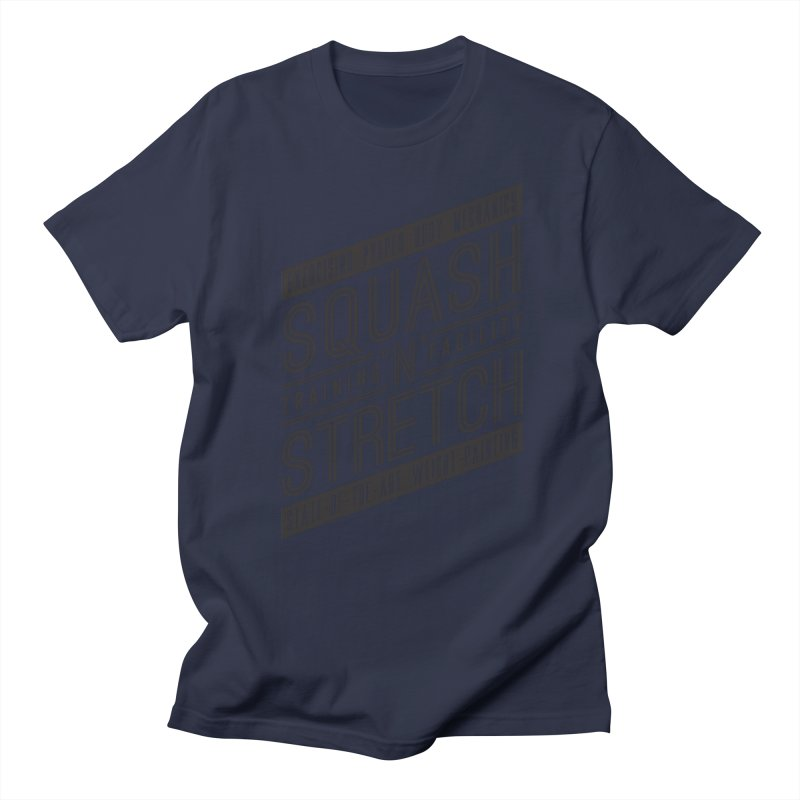 Squash 'n' Stretch Men's T-shirt by Teeframed