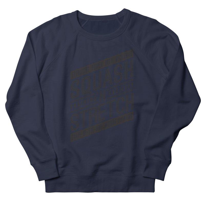 Squash 'n' Stretch Men's Sweatshirt by Teeframed