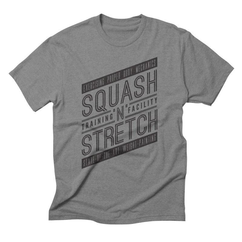 Squash 'n' Stretch Men's Triblend T-Shirt by Teeframed