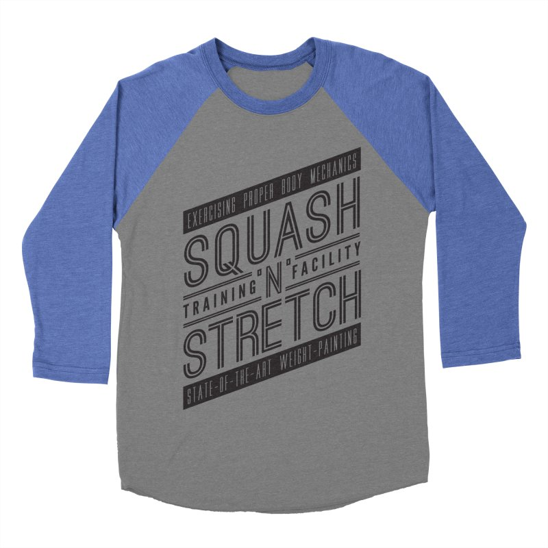 Squash 'n' Stretch Women's Baseball Triblend T-Shirt by Teeframed