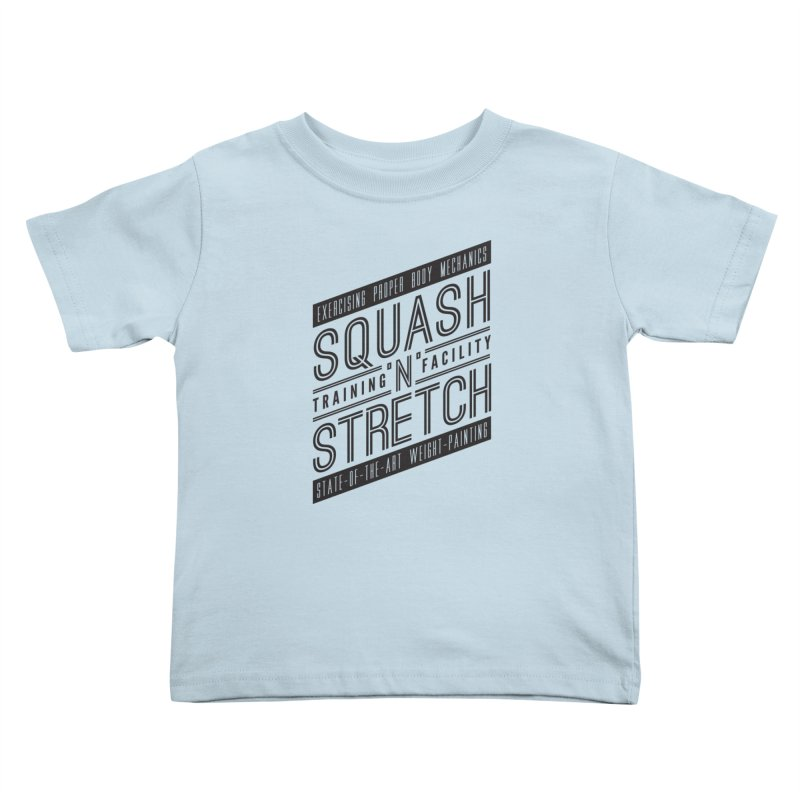Squash 'n' Stretch Kids Toddler T-Shirt by Teeframed