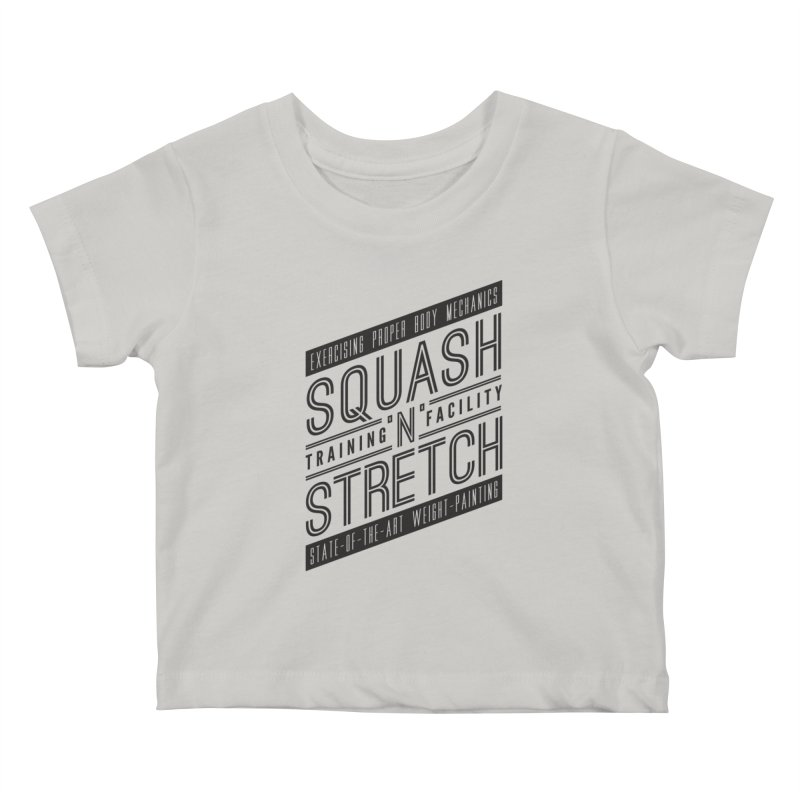 Squash 'n' Stretch Kids Baby T-Shirt by Teeframed