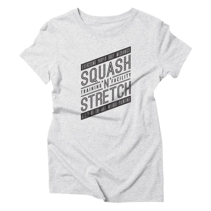 Squash 'n' Stretch Women's T-Shirt by Teeframed
