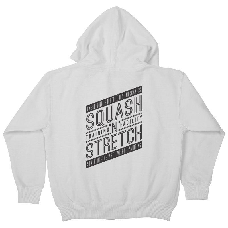 Squash 'n' Stretch Kids Zip-Up Hoody by Teeframed