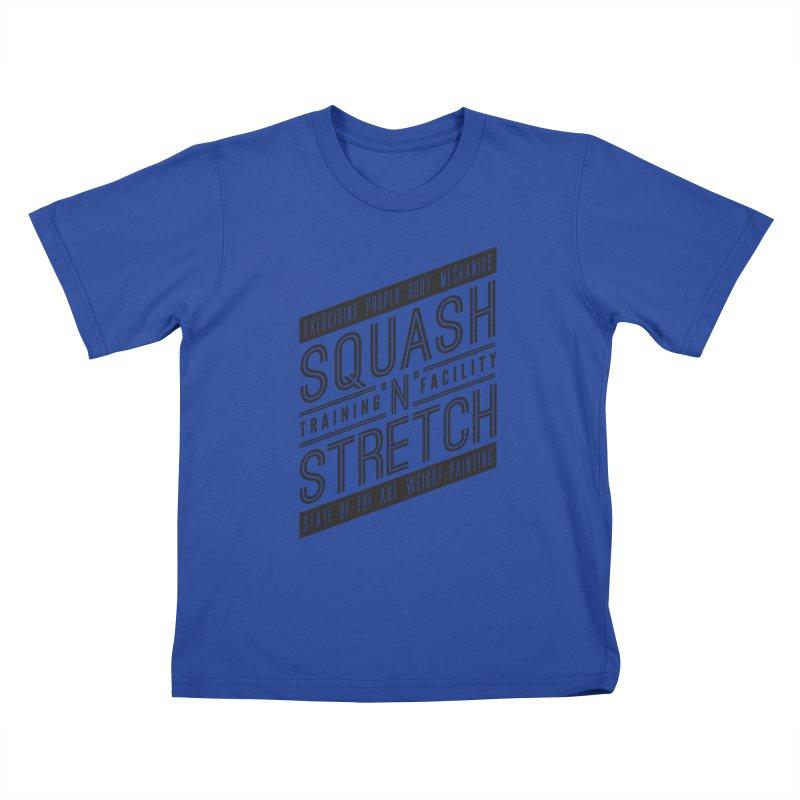 Squash 'n' Stretch Kids T-Shirt by Teeframed