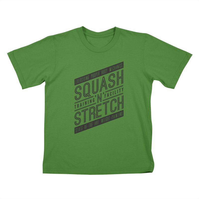 Squash 'n' Stretch Kids T-shirt by Teeframed