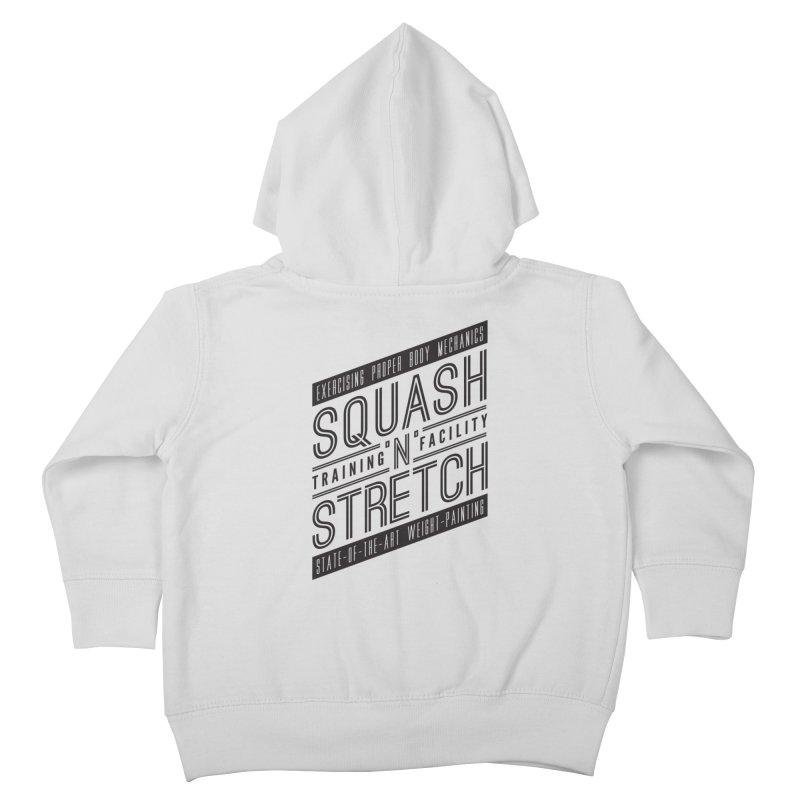 Squash 'n' Stretch Kids Toddler Zip-Up Hoody by Teeframed