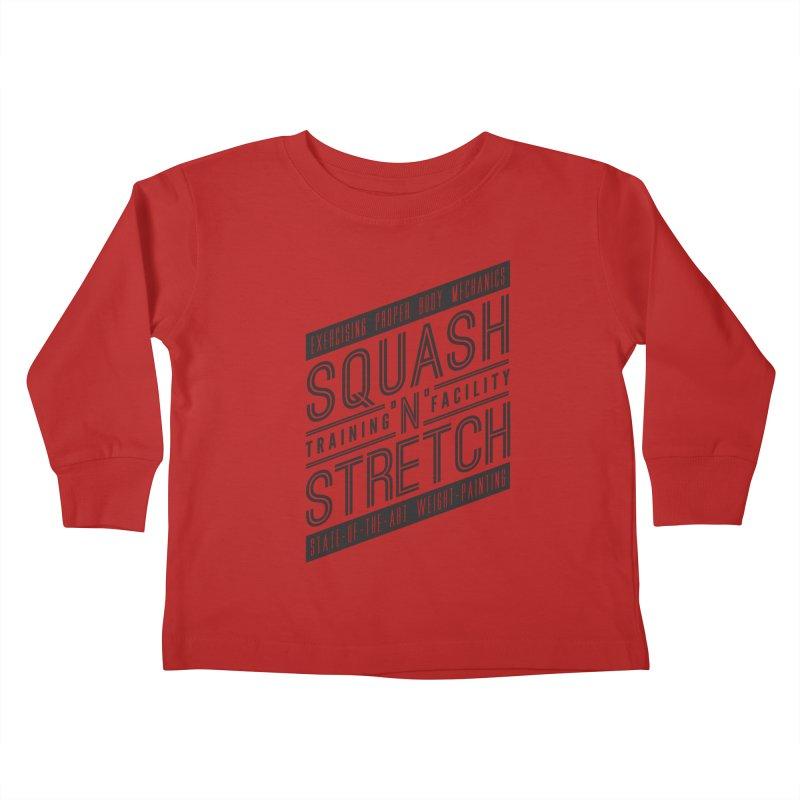 Squash 'n' Stretch Kids Toddler Longsleeve T-Shirt by Teeframed