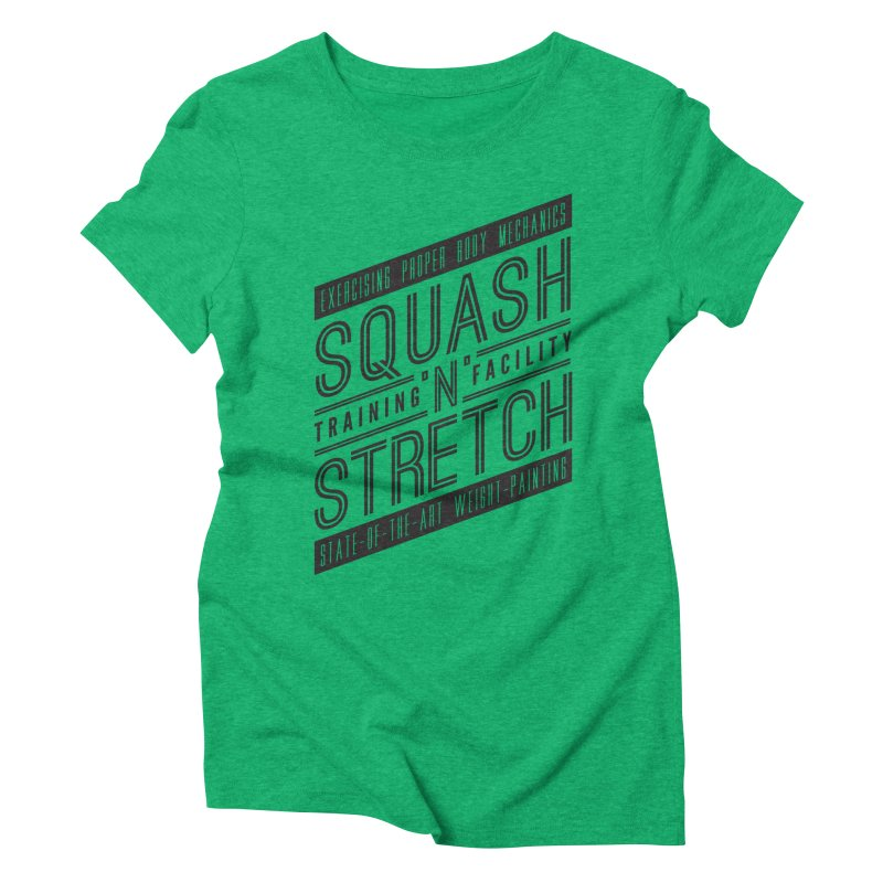Squash 'n' Stretch Women's Triblend T-shirt by Teeframed