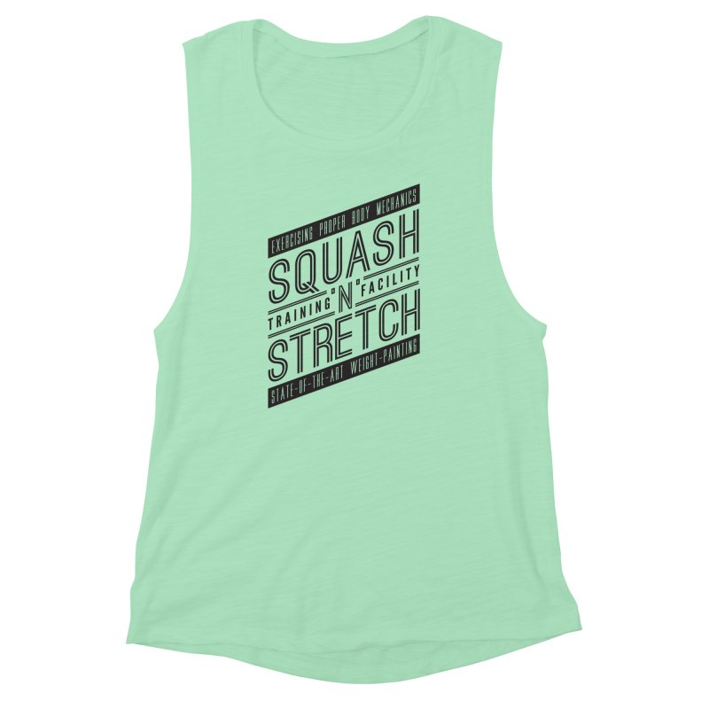 Squash 'n' Stretch Women's Muscle Tank by Teeframed