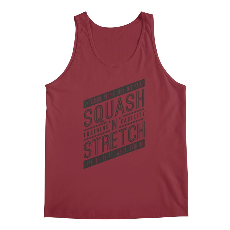 Squash 'n' Stretch Men's Tank by Teeframed