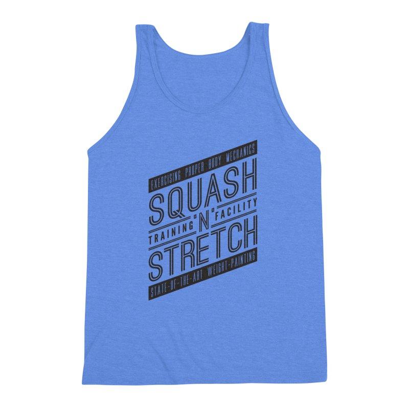 Squash 'n' Stretch Men's Triblend Tank by Teeframed