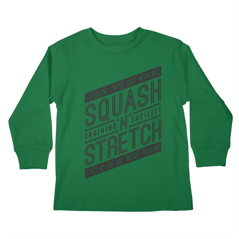 Squash 'n' Stretch Kids Longsleeve T-Shirt by Teeframed