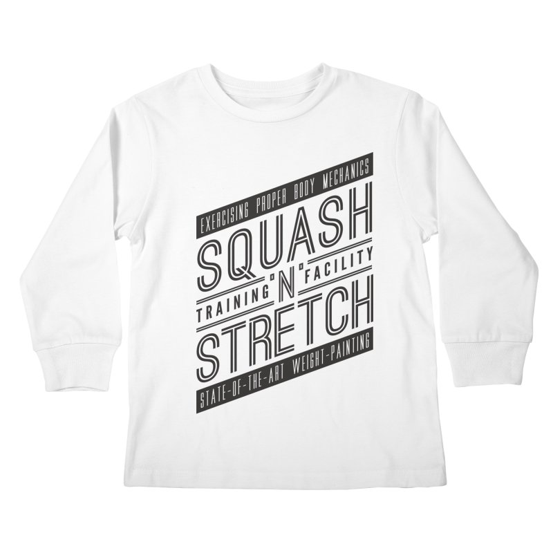 Squash 'n' Stretch Kids Longsleeve T-Shirt by Teeframed