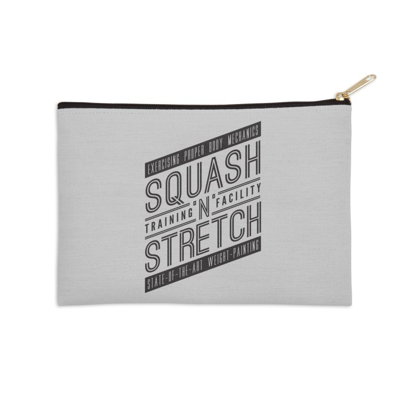 Squash 'n' Stretch Accessories Zip Pouch by Teeframed