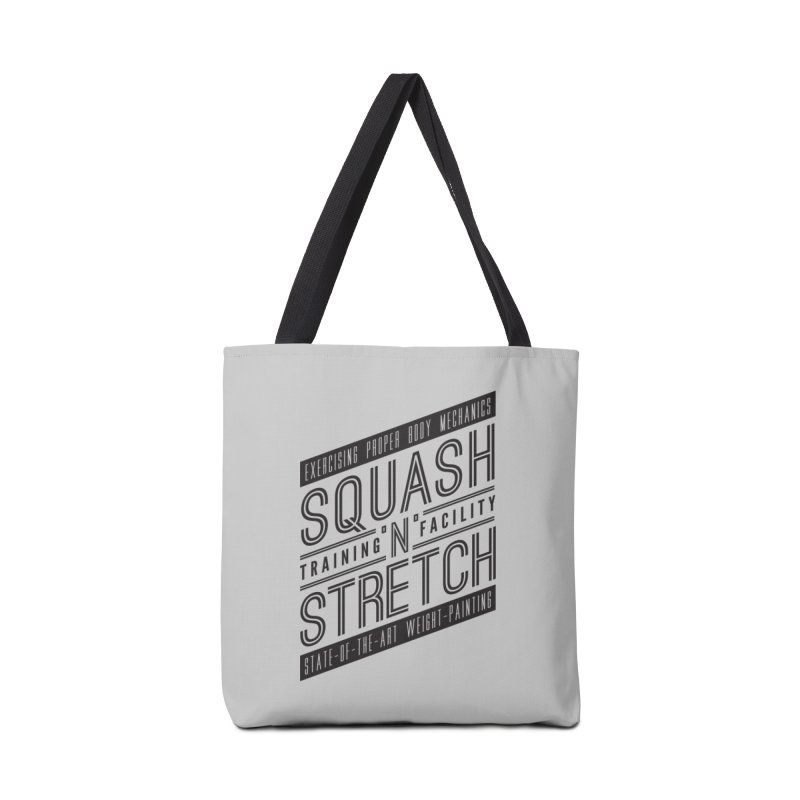 Squash 'n' Stretch Accessories Bag by Teeframed