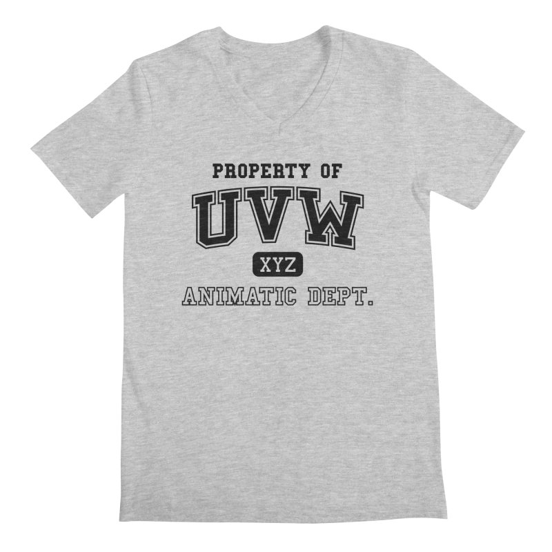 Property of UVW Men's V-Neck by Teeframed