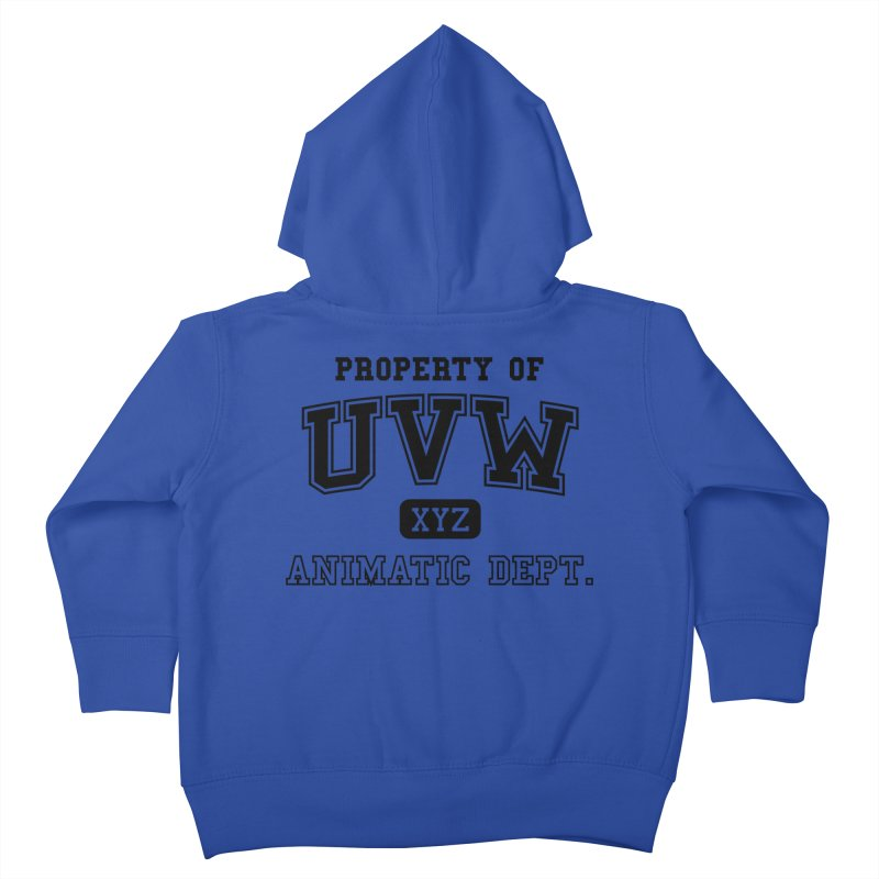 Property of UVW Kids Toddler Zip-Up Hoody by Teeframed