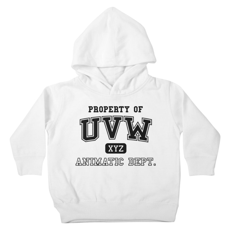 Property of UVW Kids Toddler Pullover Hoody by Teeframed