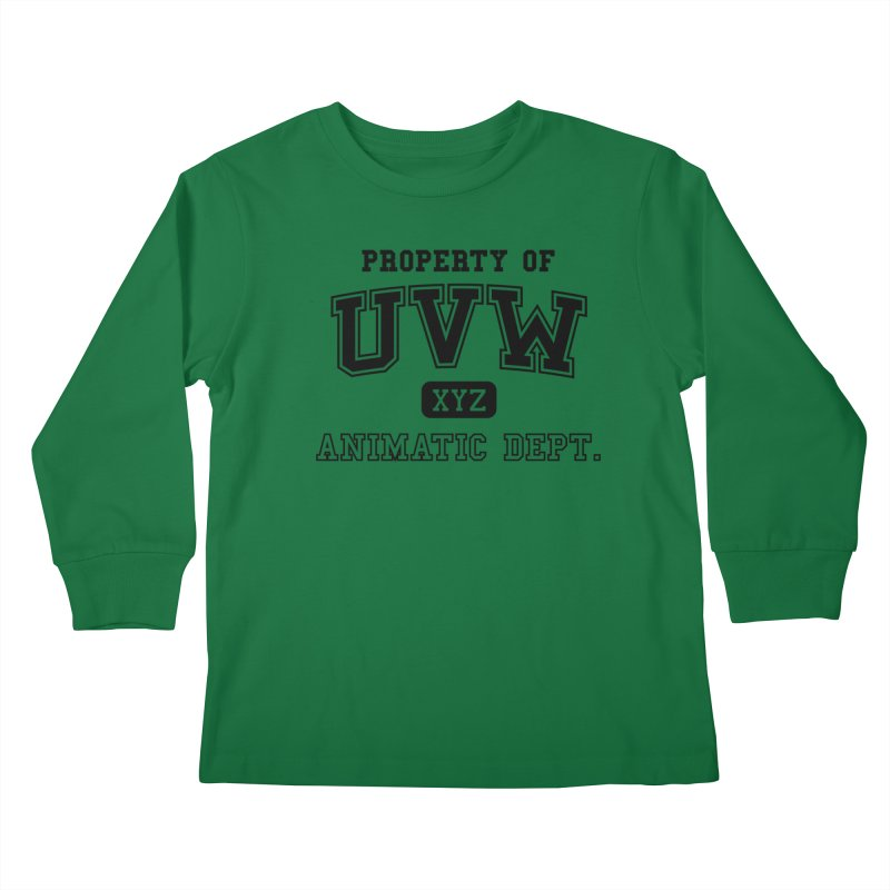 Property of UVW Kids Longsleeve T-Shirt by Teeframed