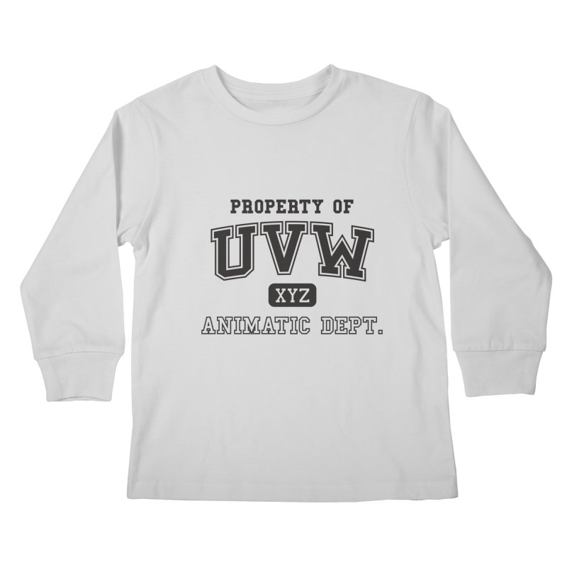 Property of UVW Kids Longsleeve T-Shirt by Teeframed