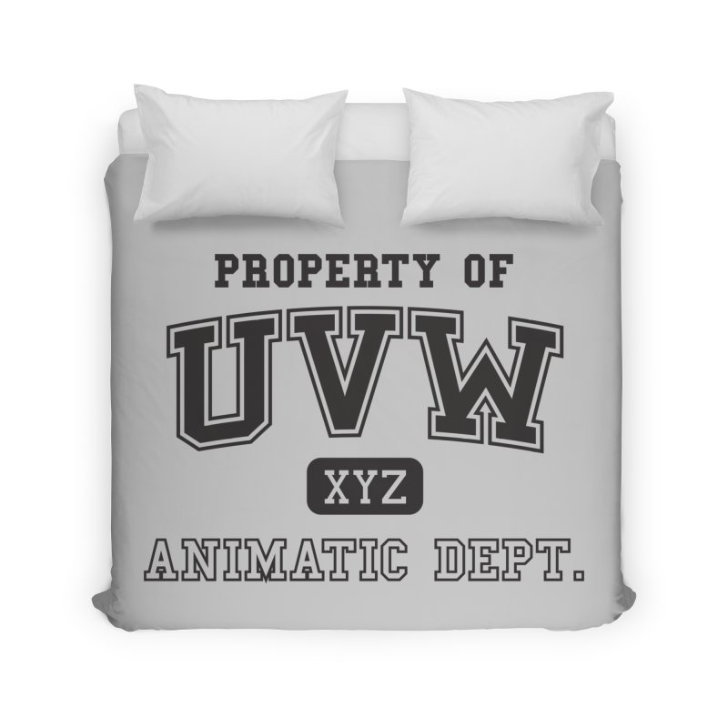 Property of UVW Home Duvet by Teeframed