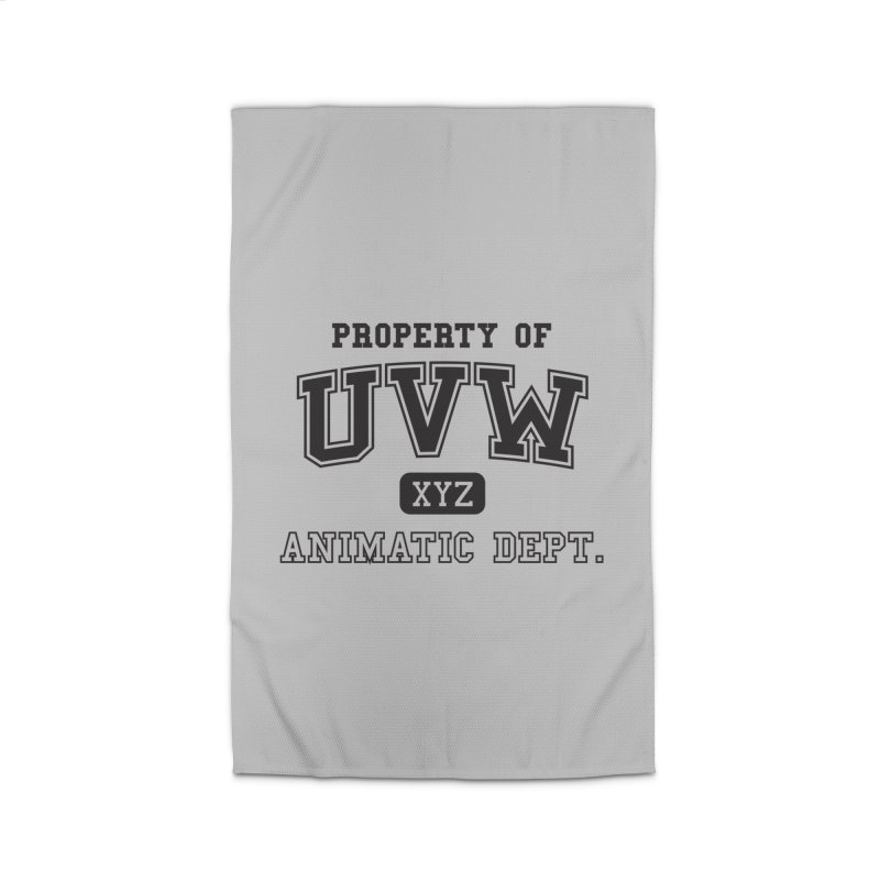 Property of UVW Home Rug by Teeframed