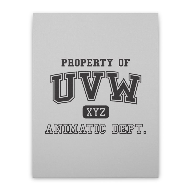Property of UVW Home Stretched Canvas by Teeframed